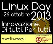 Banner LinuxDay 2013